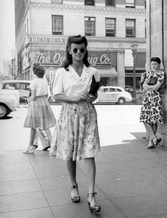 Fashion in the 1940s
