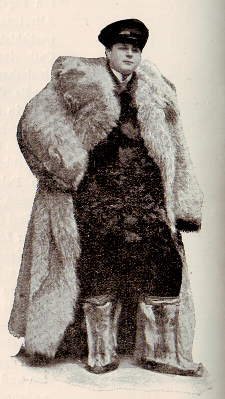 Wolf fur man's coat (1903)