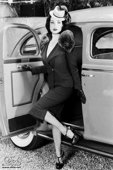 Vintage 1940 S Style Furinsider