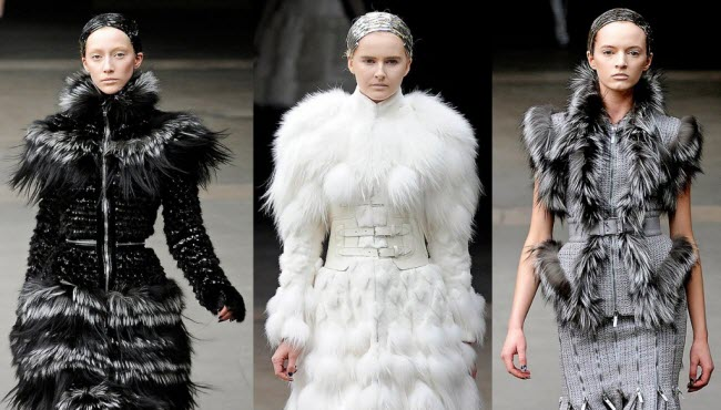 Alexander McQueen - Fall 2011-Winter 2012