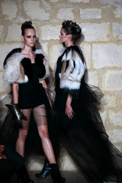 One 1 Percent Factor - Haute Couture - The Ultimate Design Lab - Fur Fashion