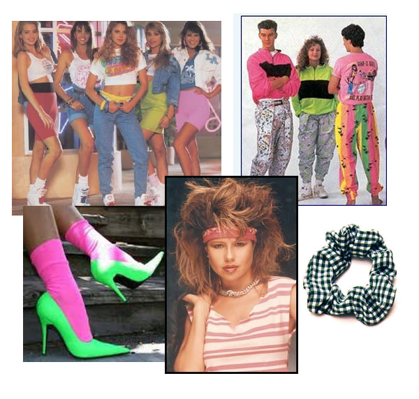 And then there was the 80s, which meant leg warmers, neon and punk for many in the fashion category