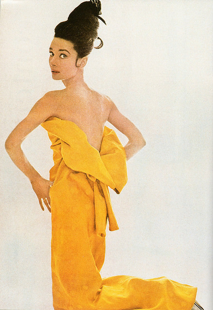 Audrey Hepburn for Vogue, 1963. Photo Bert Stern