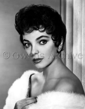 Joan Collins from the archives in her earlier film career