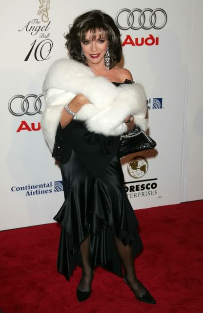 Joan works a red carpet like no other