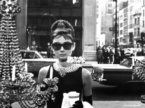 Audrey Hepburn in a still from BREAKFAST AT TIFFANY'S, 1961