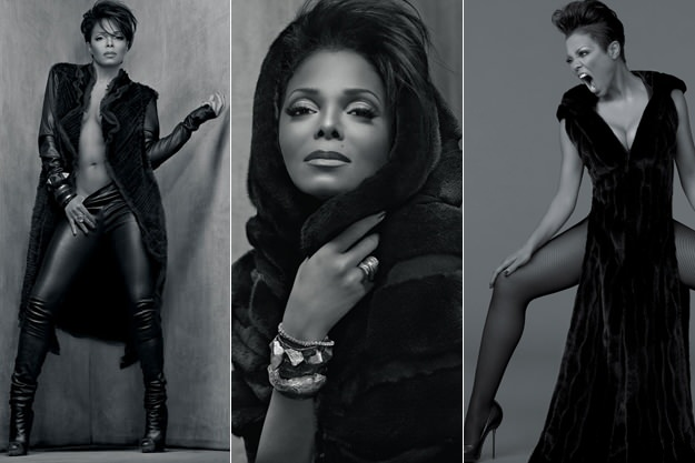 A series of fierce ads from the Janet Jackson BLACKGLAMA campaign