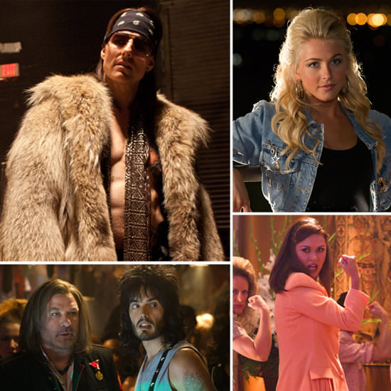 Tom Cruise is completely transformed into a bad-ass rock legend in the upcoming Rock of Ages film coming out June 15.