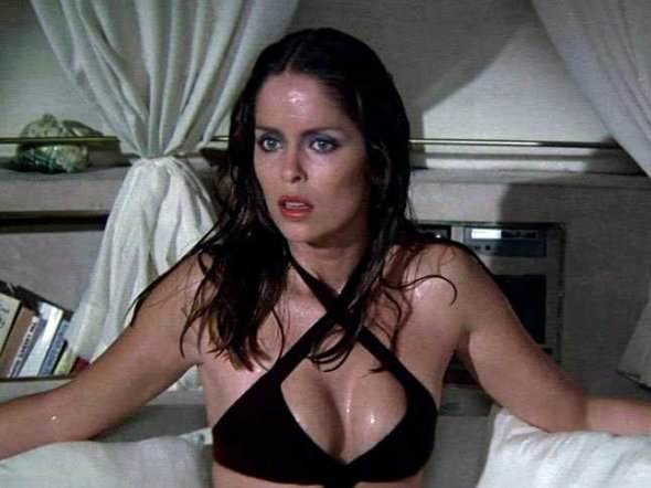 Barbara Bach played Soviet agent Triple X in the 1977 film 'The Spy Who Loved Me'