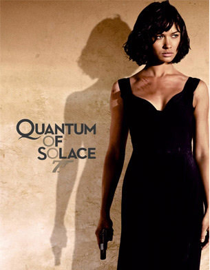 Olga Kurylenko in quantum of solace