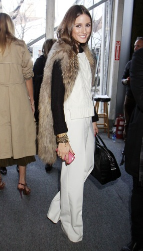 New York socialite & blogger Olivia Palermo always finds a way to incorporate fur into her look both dress and casual.Animal Rights Goes Wrong | Things That Make You Go Hmmm…
