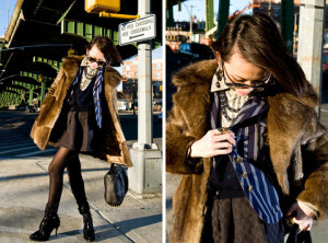 Vintage chic and the Hipster parallel | Vintage Furs, Always A Must | HIPSTER VALUES