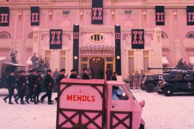 "Scene from ""The Grand Budapest Hotel""."