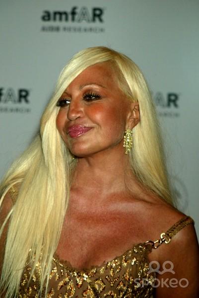 Artifice is bliss. Donatella Versace flaunts it!