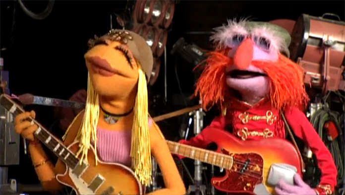 Janice and Floyd Pepper, The Muppet
