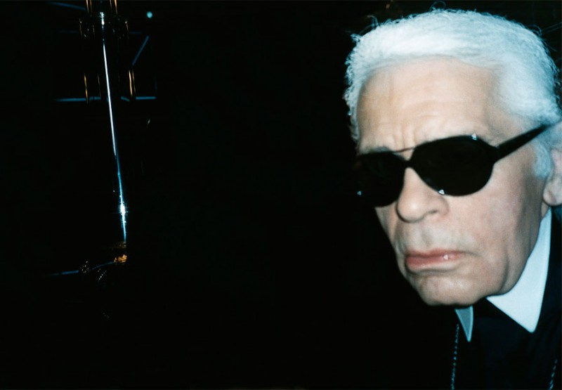 "Karl Lagerfeld from Jonas Unger ""Autoportraits"" series"