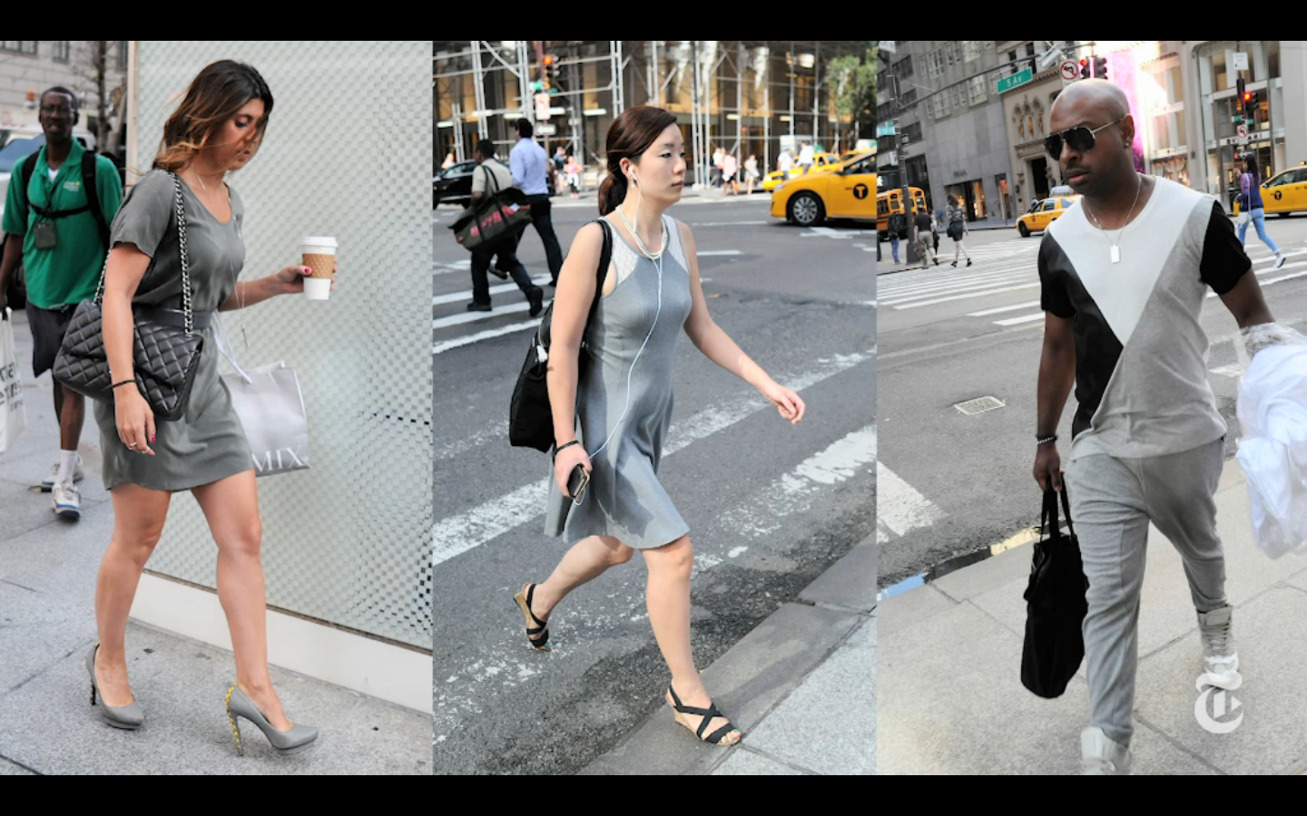 Bill Cunningham | Gray Matters (The New York Times)