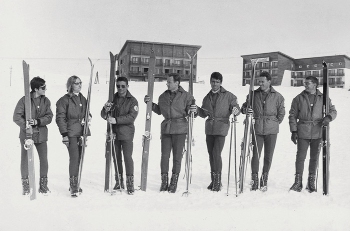 French National Ski Team, 1966
