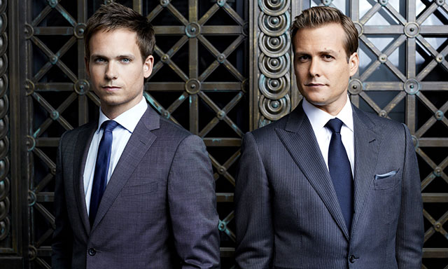 "Harvey Specter and Mike Ross shine the brightest in USA's ""SUITS"""