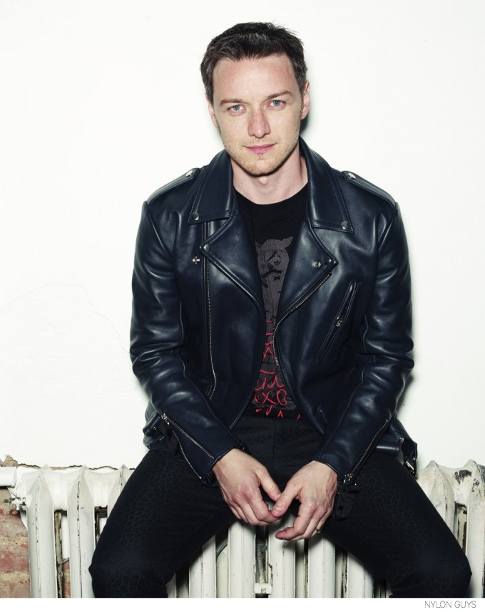 James McAvoy in Nylon Guys, September 2014