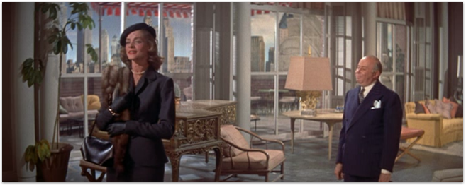 "Iconic scenes from the 1953 film ""How to marry A Millionaire"""