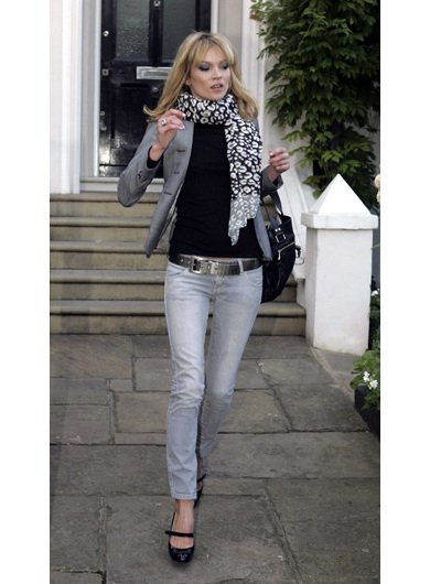 London Street Style with Kate Moss