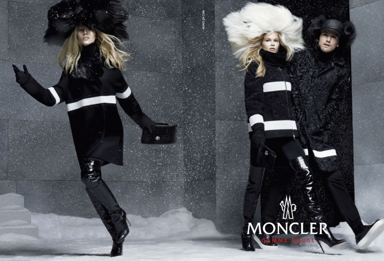 Moncler Gamme Rouge - Fall 2014-Winter 2015 photographed by Steven Meisel