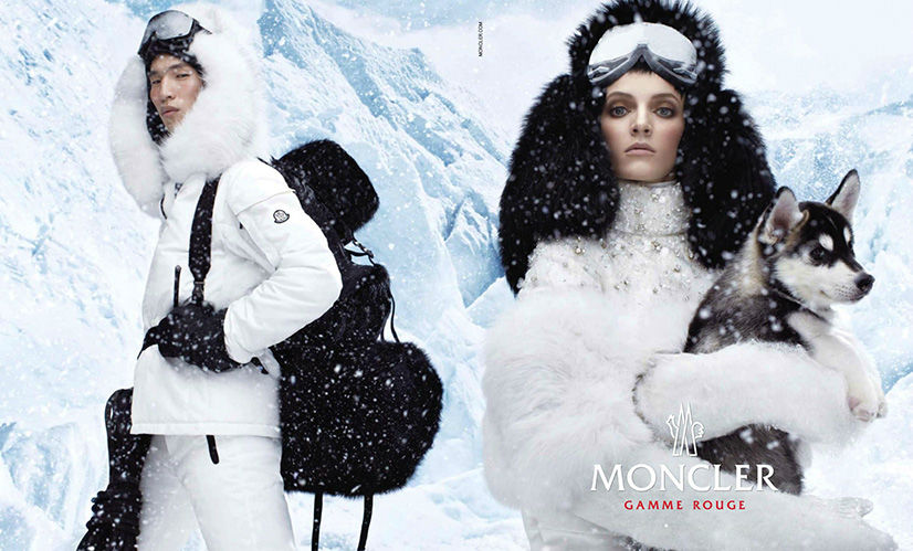 Moncler Gamme Rouge - Fall 2013-Winter 2014 photographed by Steven Meisel
