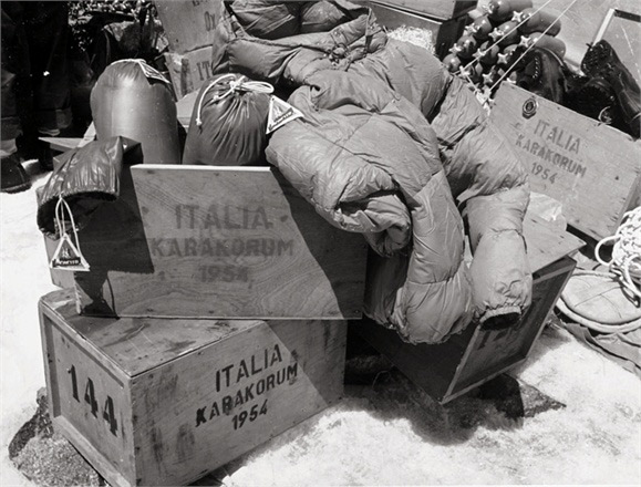 Moncler outfitted the Italian expedition to Karakorum in 1954