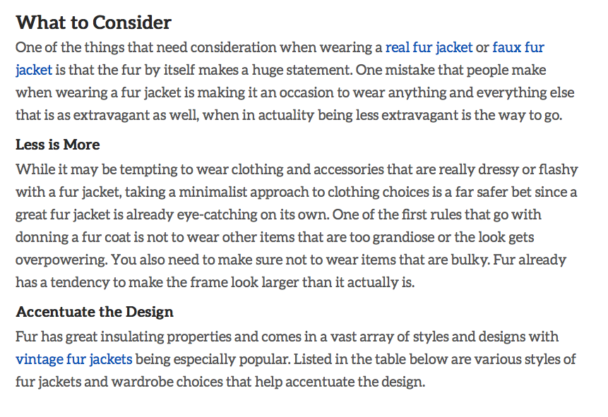 ebay's How to Wear and Style a Fur Jacket