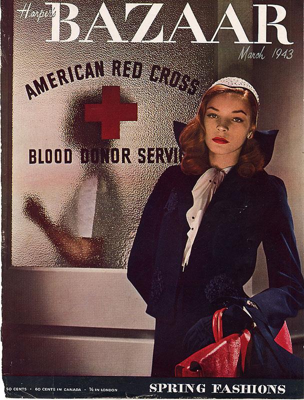 The Harper's Bazaar that created Lauren Bacall