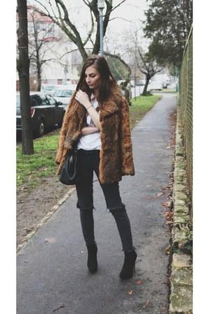 Vintage Fur - peacoat length
