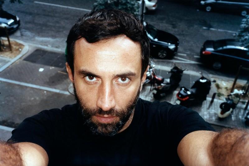 "Riccardo Tisci from Jonas Unger ""Autoportraits"" series"