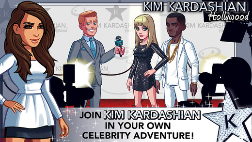 "The ""Kim Kardashian: Hollywood"" app"