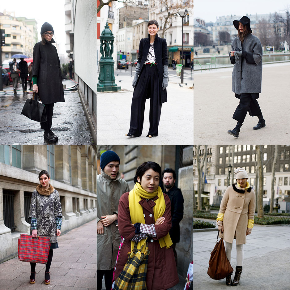 Street Style - 3/4 sleeve coats