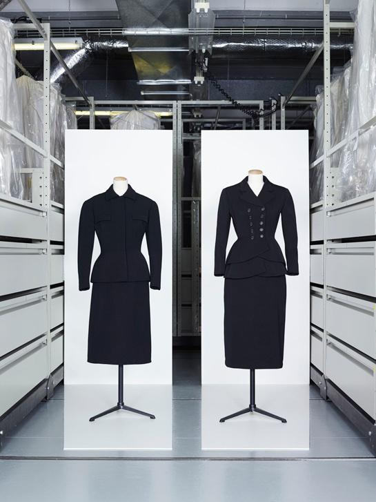 Balenciaga suits - Les années 50 : La mode en France, 1947-1957