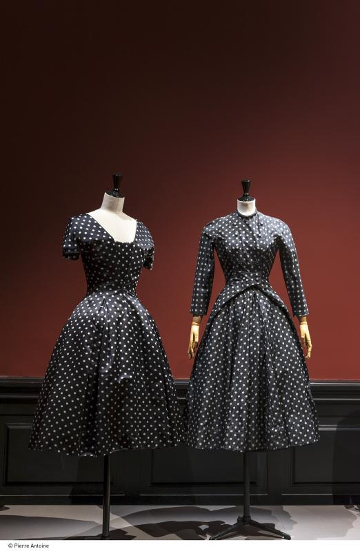 Gallery view - Daywear looks, polkadot prints - Les années 50 : La mode en France, 1947-1957