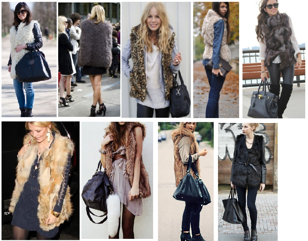 Fur vests for every style and personality