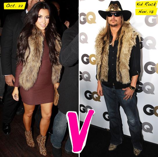 Kim Kardashian vs. Kid Rock