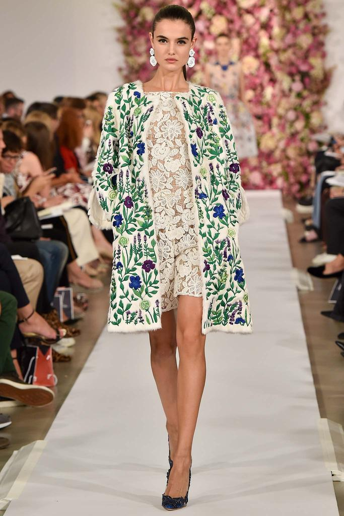 Oscar de la Renta - New York Fashion Week Spring-Summer 2015