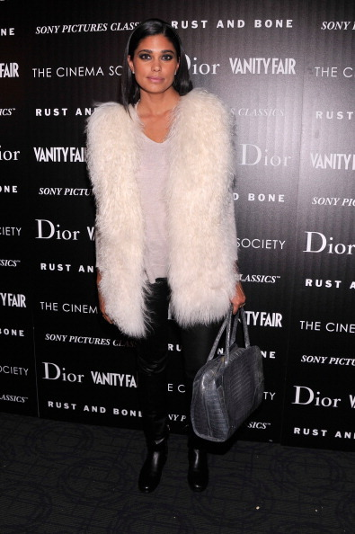 "Rachel Roy attends The Cinema Society with Dior & Vanity Fair screening of ""Rust And Bone"" at Landmark Sunshine Cinema on November 8, 2012 in New York City."