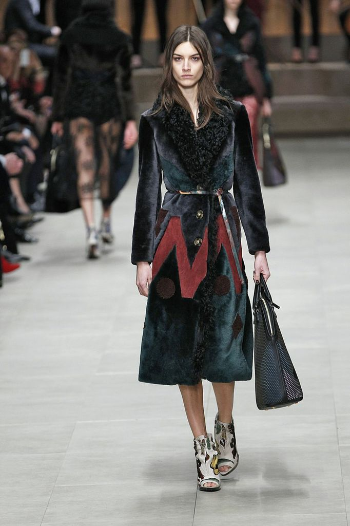 Burberry Prorsum - Fall 2014-Winter 2015