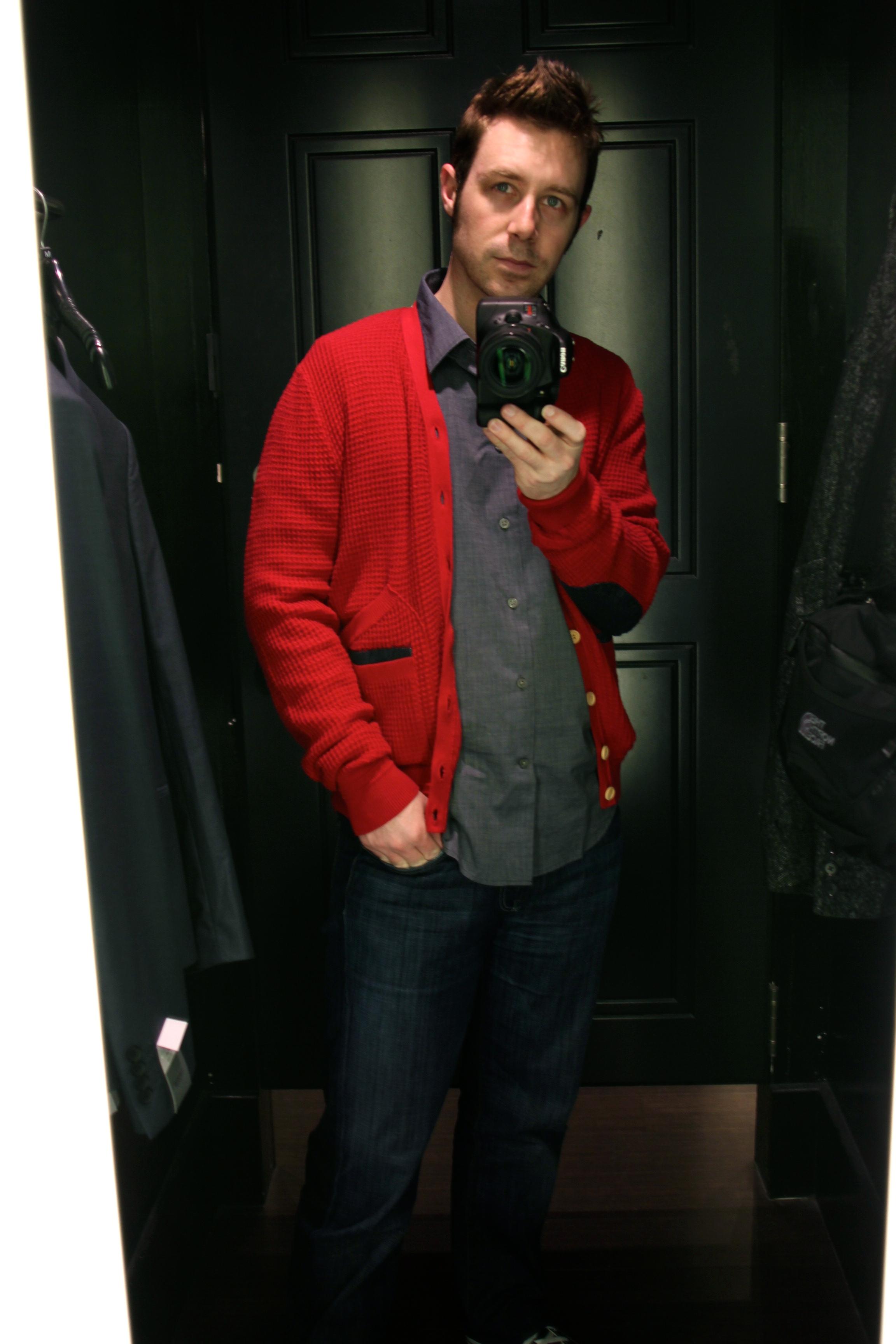 Cardigans aren't just for Mr. Rogers? (@RyanShell)