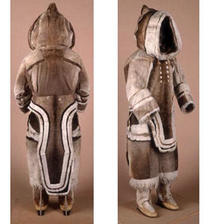 Inuit woman's suit, pre-1927