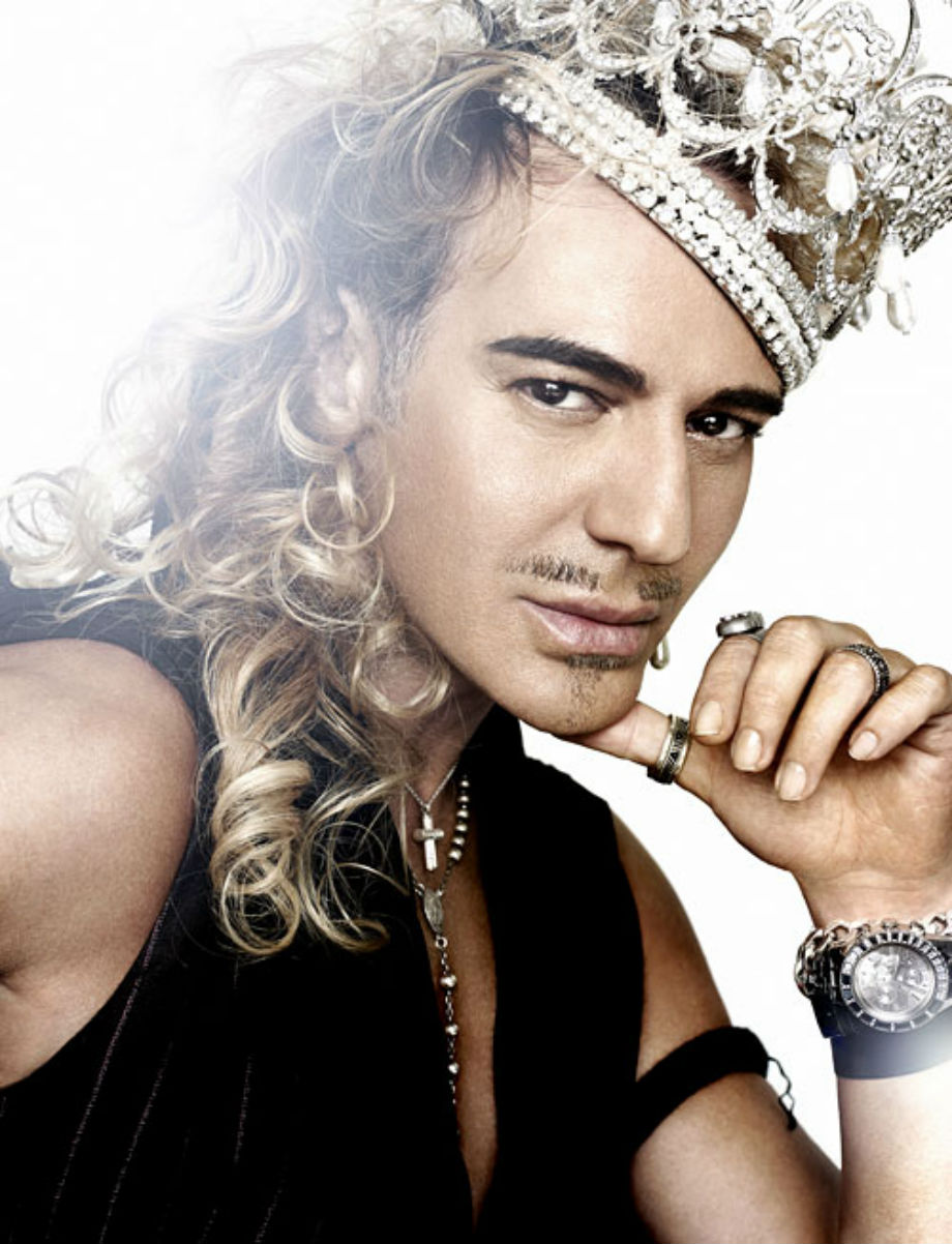 Attention Seeker par excellence: John Galliano