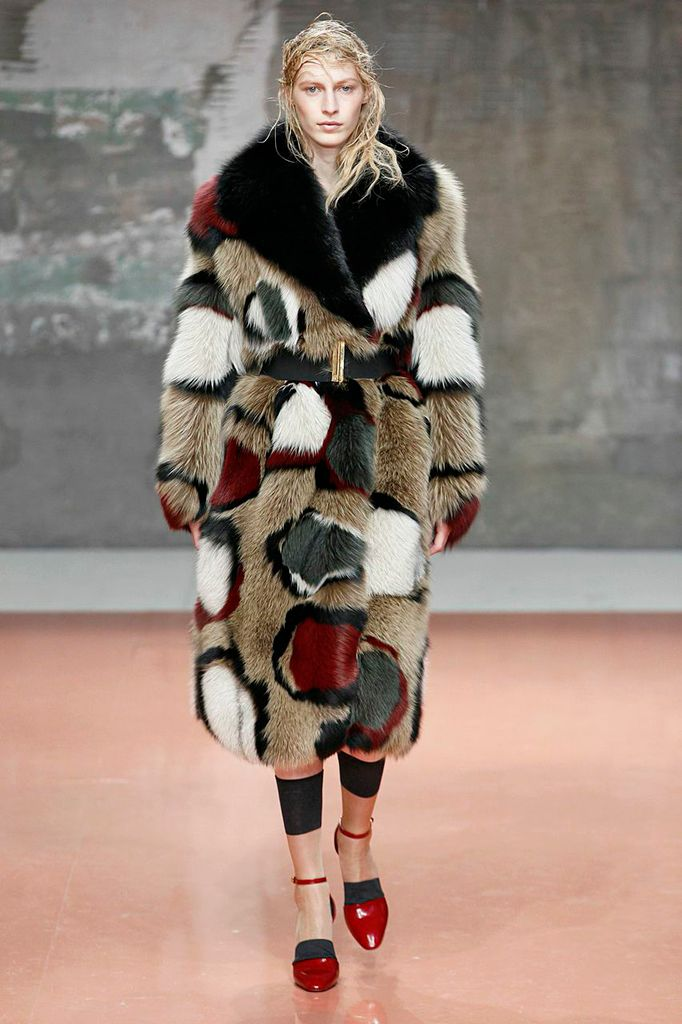 Marni - Fall 2014-Winter 2015 - Artistry in Fur Fashion