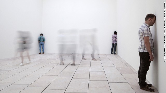 On the performance art side, Oliver Beer's Composition For a New Museum has three people singing in different corners of a room to demonstrate the building's acoustics.