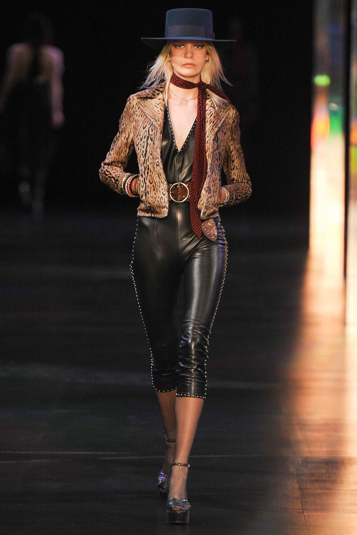 Saint Laurent - Paris Fashion Week Spring-Summer 2015