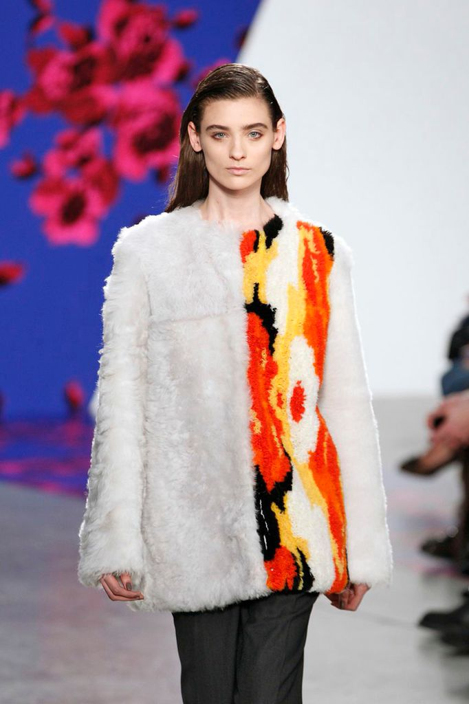Thakoon - Fall 2014-Winter 2015 - Artistry in Fur Fashion