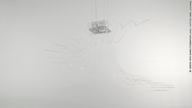 Welsh conceptual artist Cerith Wyn Evans also contributed a commissioned work.